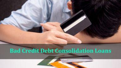 Bad Credit Debt Consolidation Loans