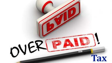 Overpaid Tax