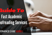 Guide To Fast Academic Proofreading Services
